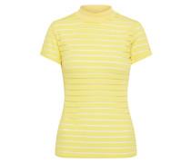 T-Shirt 'gral' gelb