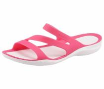 Pantolette 'Swiftwater Sandal' pink / weiß