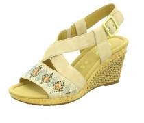 Sandalen/Sandaletten gelb