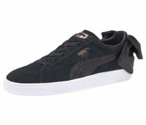 Sneaker 'Suede Bow Wn´s' schwarz / weiß