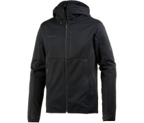 'Ultimate V' Softshelljacke schwarz