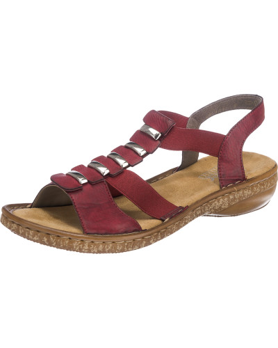 Sandaletten bordeaux