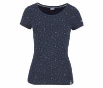 T-Shirt marine / hellblau / weiß