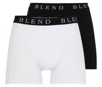 Boxershorts schwarz / weiß