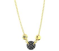 Halskette 'ubn71240' gold / schwarz
