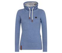 Pullover 'Geh Weg' blau