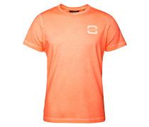 T-Shirt 'Jibstay' orangemeliert