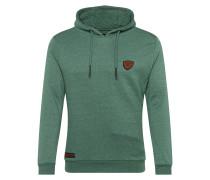 Sweatshirt 'keeper' grün