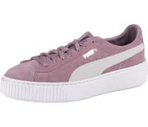 Sneaker 'Suede' helllila / weiß