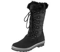 Stiefel graumeliert / schwarz