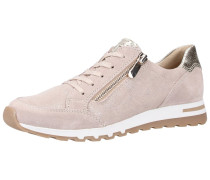 Sneaker hellpink / silber