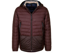 Steppjacke bordeaux / weinrot