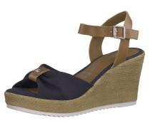 Sandale navy / braun