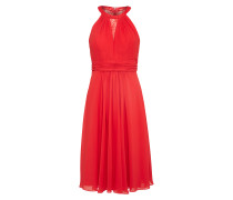 Abendkleid Spitze rot