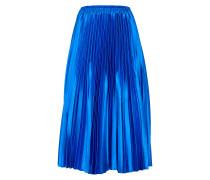 Plisséerock 'Karmen' blau