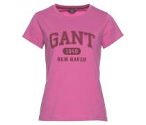 T-Shirt pink / dunkelrot