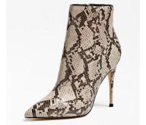 Ankle Boots 'Olanes' beige / schwarz