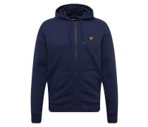 Sweatshirts 'Zip Through Hoodie' navy