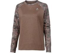 Sweatshirt 'oak' braun