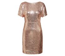 Kleid 'CC 001' rosegold