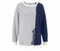 Sweater navy / grau