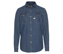Jeanshemd '3301 Shirt' blue denim