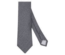 Krawatte ' Custom Fit ' grau