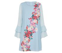 Kleid 'watercolour Rose' hellblau