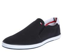 Loafer aus Textil navy