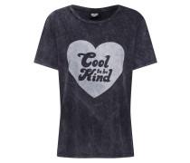 Shirt 'Cool to be Kind' dunkelgrau