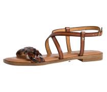 Sandale kastanienbraun / kupfer