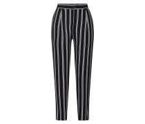 Hose 'JE SEB Stripe' schwarz / weiß