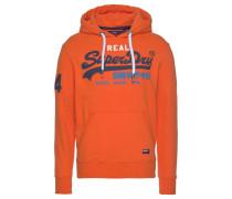 Sweatshirt 'Vintage' dunkelorange