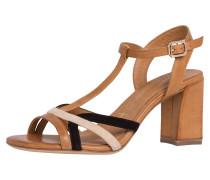 Sandalette beige / braun