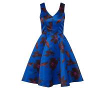 Kleid blau / schwarz