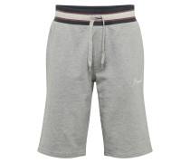 Hose 'jorjared Sweat Shorts' hellgrau
