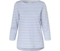 Shirt hellblau / rosa