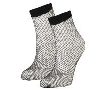 Socken 'Net' schwarz