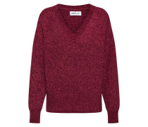 Pullover 'Masche' rot