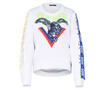 Sweatshirts 'f-Lyanydy Sweat-Shirt' weiß
