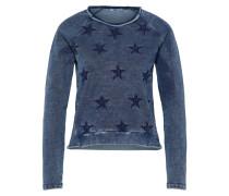 Sweatshirt 'rojilo S/t' blau