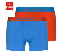 Boxer 'Flowing' blau / orangerot