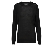 Classic Merino Pullover schwarz