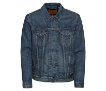 Jacke 'lined Trucker Jacket' blue denim