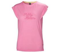 T-Shirt 'W Siren Spring' pink
