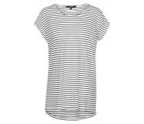 Shirt 'Effi' schwarz / weiß