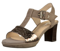Sandalen taupe / anthrazit