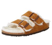 Pantoletten 'Arizona' karamell