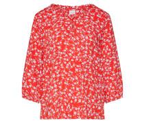 Bluse 'Daisy' weiß / rot