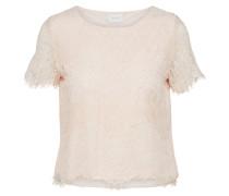 Spitzen Shirt rosa